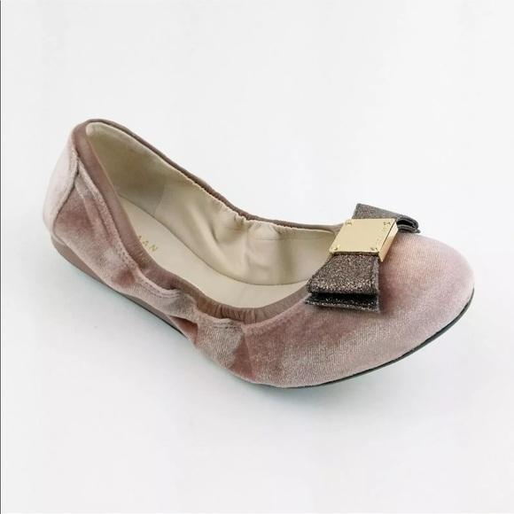 4c6776e61e98 Cole Haan tali bow ballet flats